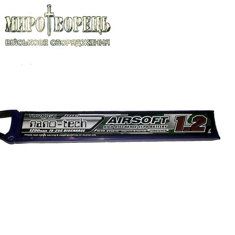 АКБ Turnigy LiPo 11.1v 1200mAh 15-25C нунчаки