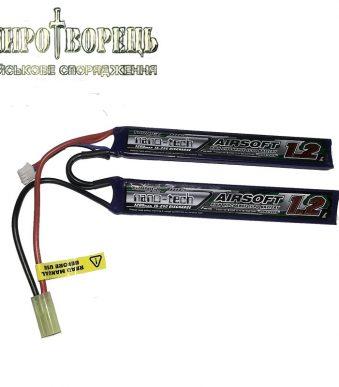АКБ Turnigy LiPo 7.4v 1200mAh 15-25C нунчаки