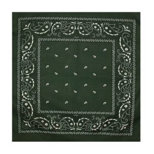 Бандана 55x55см зелена MFH