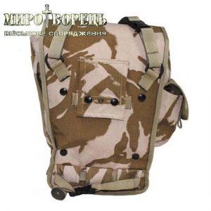 Протигазова сумка армії Великобританії Desert DPM б/в