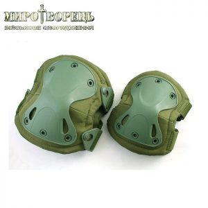 Тактичні наколінники та налокітники Х-форми комплект, olive