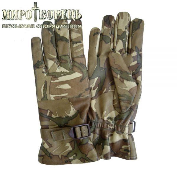 Тактичні рукавиці MTP зі шкіри Combat Warm Weather (Британія)