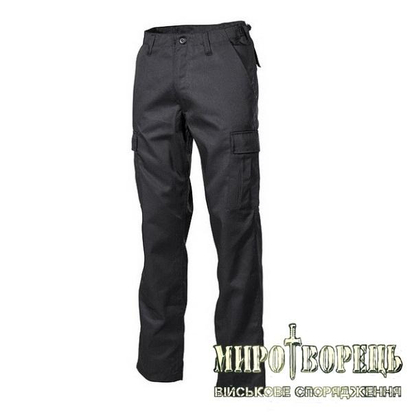 Тактичні штани MFH BDU US black
